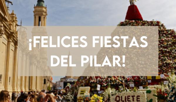 ¡Felices Fiestas del Pilar!