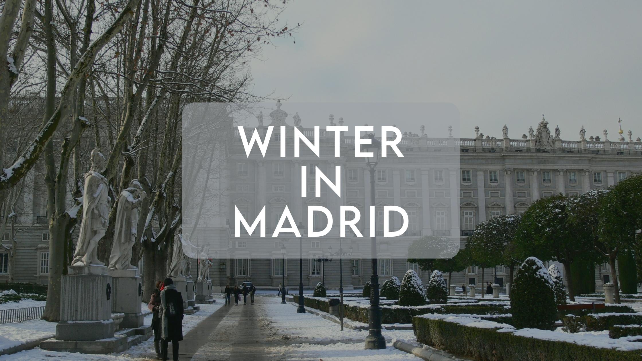En este momento estás viendo Winter in Spain