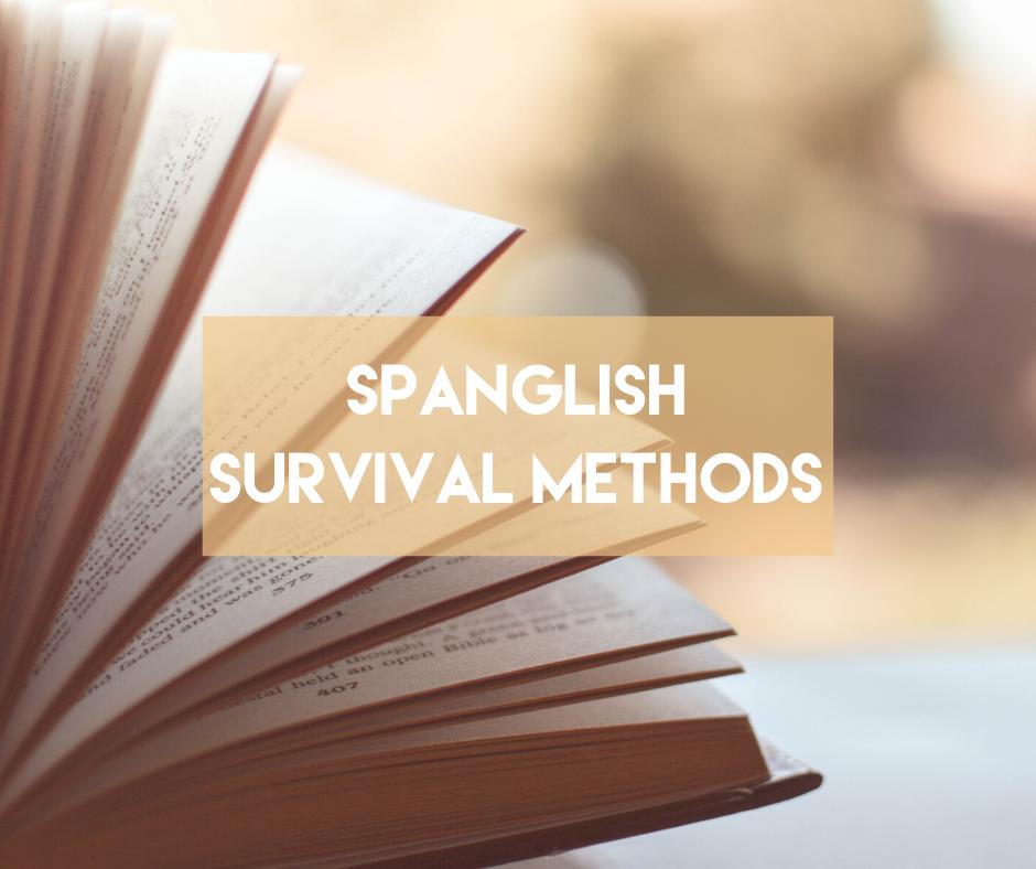 En este momento estás viendo Spanglish survival methods