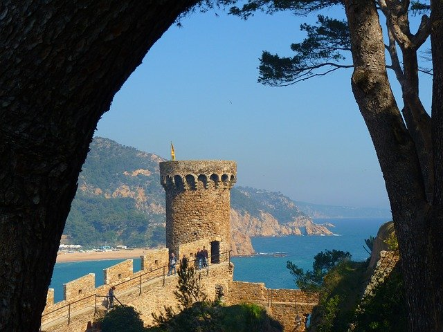 Castle view - Coming to Spain