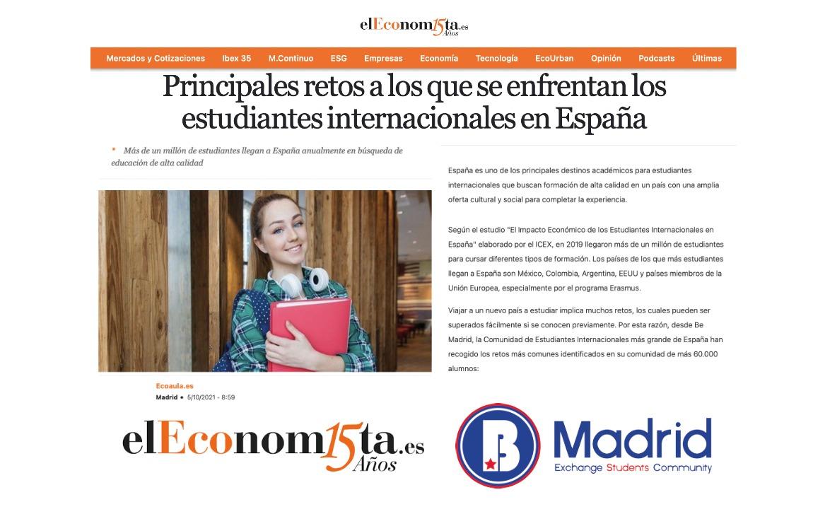 En este momento estás viendo Principales retos que enfrentan los estudiantes internacionales en España